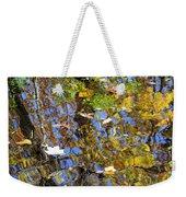 Autumnal Abstracious Weekender Tote Bag