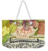 Autumnal Bouquet Watercolour Weekender Tote Bag
