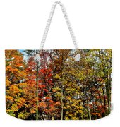 Autumnal Foliage Weekender Tote Bag