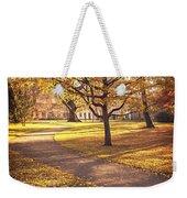 Autumnal Park Weekender Tote Bag