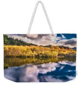 Autumnal Reflections Weekender Tote Bag
