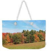 Autumnal Wave Weekender Tote Bag