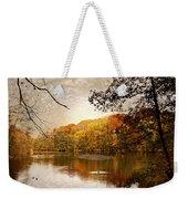 Autumn's Adieu Weekender Tote Bag