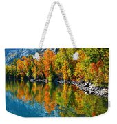 Autumn's Beauty Reflected Weekender Tote Bag