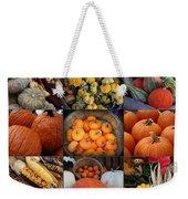 Autumn's Bounty Weekender Tote Bag