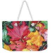Autumn's Carpet Weekender Tote Bag