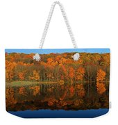 Autumns Colorful Reflection Weekender Tote Bag