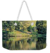 Autumn's Golden Peace Weekender Tote Bag