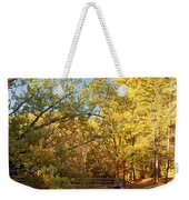 Autumn's Golden Pond Weekender Tote Bag