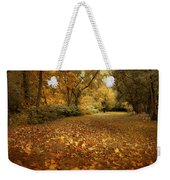 Autumn's Passage Weekender Tote Bag