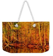 Autumn's Past Weekender Tote Bag