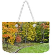 Autumns Playground Weekender Tote Bag
