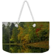 Autumns Reflection Weekender Tote Bag