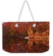 Autumn's Reflection Weekender Tote Bag