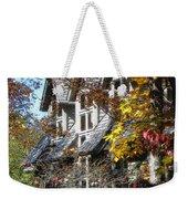 Autumn's Windows Weekender Tote Bag