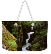 Avalanche Creek Glacier National Park Weekender Tote Bag
