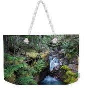 Avalanche Creek In Cedar Forest Weekender Tote Bag