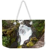 Avalanche Creek In Glacier Np-mt Weekender Tote Bag