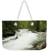 Avalanche Creek In Spring Run Off Weekender Tote Bag