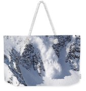 Avalanche I Weekender Tote Bag by Bill Gallagher