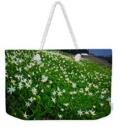 Avalanche Lily Field Weekender Tote Bag