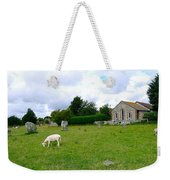 Avebury Stones And Sheep Weekender Tote Bag