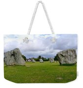 Avebury's Southern Entrance Stones Weekender Tote Bag