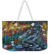Avenue Of Shadows Weekender Tote Bag