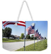 Avenue Of The Flags Weekender Tote Bag