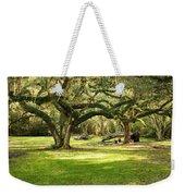 Avery Island Oaks Weekender Tote Bag by Scott Pellegrin