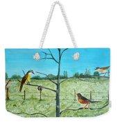 Aves En Comarca Del Sol Weekender Tote Bag