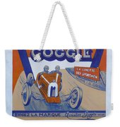 Aviator Goggle Sold Here Poster Weekender Tote Bag