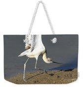 Avocet Dancer Weekender Tote Bag