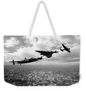 Avro Birds - Mono  Weekender Tote Bag