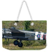 North American B-25 Mitchell Bomber Taking Off. Weekender Tote Bag