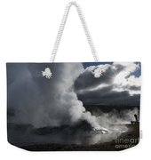 Awakening In Yellowstone Weekender Tote Bag