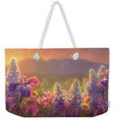 Awakening - Mt Susitna Spring - Sleeping Lady Weekender Tote Bag