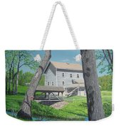 Award-winning Painting Of Beckman's Mill Weekender Tote Bag by Norm Starks