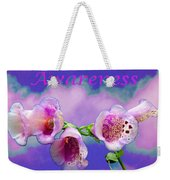 Awareness Weekender Tote Bag
