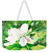 Awesome Apple Blossoms Weekender Tote Bag