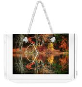 Awesome Autumn Poster Weekender Tote Bag