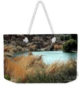 Ayer Lake Weekender Tote Bag