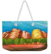 Ayers Rock End Weekender Tote Bag