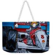 Ayrton Senna Monaco 93 Weekender Tote Bag