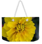 Ayz - A Yellow Zinnia Weekender Tote Bag