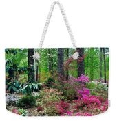 Azaleas Red Maple And Magnolia Trees Weekender Tote Bag