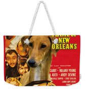 Azawakh Art - The Flame Of New Orleans Movie Poster Weekender Tote Bag