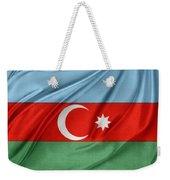 Azerbaijan Flag Weekender Tote Bag by Les Cunliffe