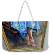 Through The Looking Glass- A Vision In Azure, Prelude To A Dance Weekender Tote Bag