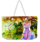 Azuria In Her Banquet Gown Weekender Tote Bag